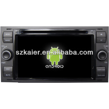Pantalla táctil dual core sistema Android en el tablero del coche reproductor de DVD para Ford Focus con GPS / Bluetooth / TV / 3G