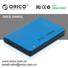 """2.5"""" USB3.0 external HDD enclosure with encription function"""