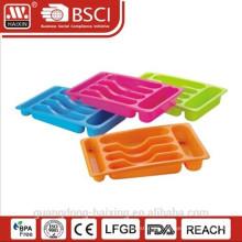 Kitchen Plastic Cutlery Tray
