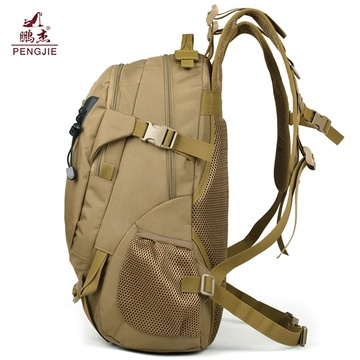 Venta al por mayor Backo táctico de nylon impermeable Backbag táctico