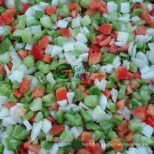 Les légumes mélangés congelés IQF à chaud avec l'ISO