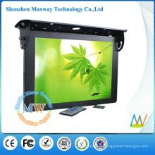 publicidade de HD LCD 21,5 polegadas completa exibir ônibus