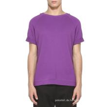 Benutzerdefinierte neueste Design Kurzarm Hoodie, kein Kapuzen-Sweatshirt