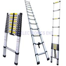 3.2 / 3.8 / 4.1 / 4.4m escada telescópica de alumínio