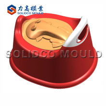 molde plástico do assento da sanita do bebê, molde da tampa