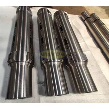 Fabricação de eixo de rotor de retificação de componentes de eixo chinês