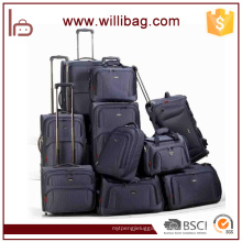 Wholesale Polyester Popular Suitcase Travelling Luggage Set
