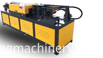 Straightening and cutting integral machine