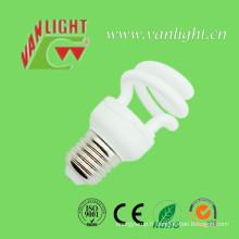 Spirales demi T2-9W ampoule économie d'énergie lampe CFL