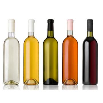 Eco-Friendly Alcool vide Bouteille en verre rouge avec bon prix