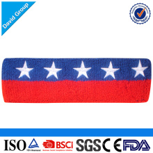 Bandeau de coton confortable pour le sport