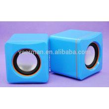 Altavoz portable del cubo de la música, mini altavoz
