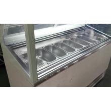 6 Pans Gelato ice cream Display Cabinet