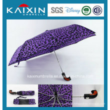 Customized Color Promotional Auto Open and Close Folding Umbrella