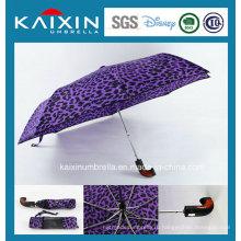 Индивидуальный цветной рекламный автомобиль с открытым и закрывающимся складным зонтиком