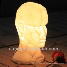 Robot Craft Home Decoration Lámpara de porcelana