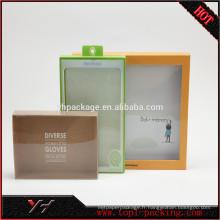 Boîtes en plastique rectangulaires pliables faites sur commande de petit PVC de plastique