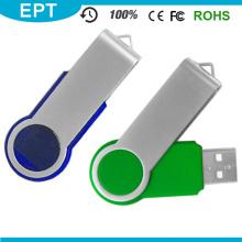 Unidad flash USB Twister colorido más barato al por mayor para muestra gratis