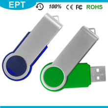 Wholesale Cheapest Colorful Twister USB Flash Drive for Free Sample