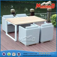 Tecido ao ar livre estofado sofá mobiliário