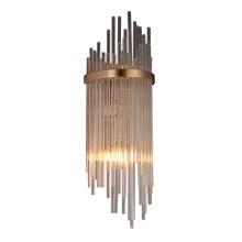 Crystal Glass Luxury Lighting Metal Wall Lamp For Hotel Duplex Villas