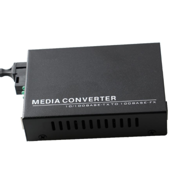 Fibra Para Rj45 Ethernet Gigabit Single Mode Media Converter