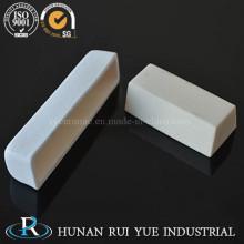 99% pureza alúmina refractaria rectangular crisol