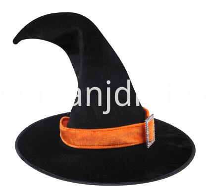 Curved witch hat
