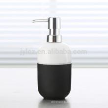 дозатор жидкого мыла с пластиковым насосом и силиконовой лентой