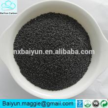 Alumínio fundido castanho cúbico granulado / alto em pó Al2O3 para abrasivo e refractário