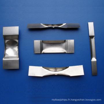 Bateaux de tungstène pour la métallisation sous vide