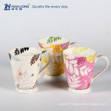 fashionable bone china mug porcelain coffee mugs