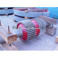Forging Large Herringbone Wheel Shaft