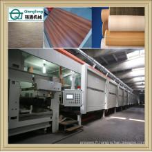 Ligne d'imprégnation pour feuille de papier de malemine / Machine de revêtement de feuilles de papier décoratif