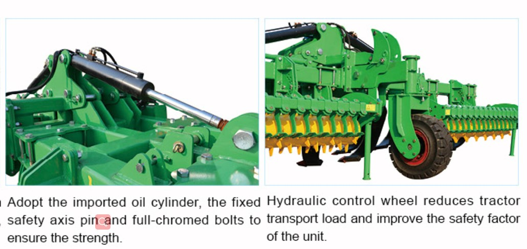 soil loosening machine