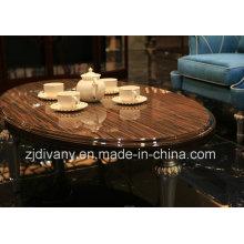 Post-moderne bois Table basse en bois ronde Table de thé