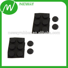 Strong Adhesive Furniture Protector Round Silicone Pads for Chair