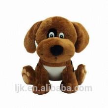 stuffed plush dog toy