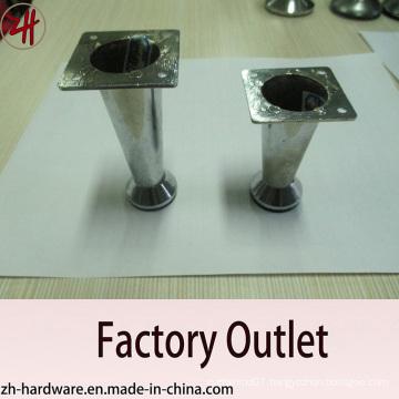 Factory Direct Sale Chrome Plated Zinc Furniture & Sofa Legs (ZH-8056)