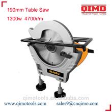 Sierra de mesa deslizante 190mm 1300w 4700r / m qimo herramientas eléctricas
