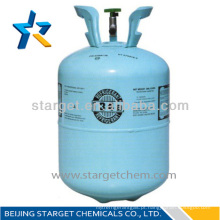 99,99% de gás refrigerante de pureza r134a substituição r12