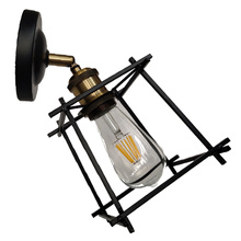 Lámpara de pared de accesorios de iluminación retro clásica empotrada de interior