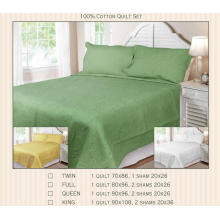 Conjuntos de 100% algodão ou T / C 50/50 Jacquard Quilt