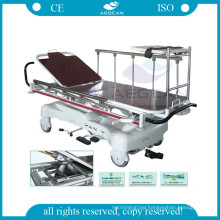 AG-HS005 approved x ray function hospital hydraulic patient transfer stretchers