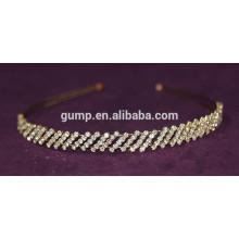 Simple Design New Korean Girl Fashion Rhinestone Children Hair Bnd Crystal headband