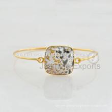 Designer Semi Precious Gemstone Latest Design Daily Wear Bangle For Best Gift In Wholesale Price