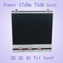 Triband High Gains 900 1800 2100MHz GSM Dcs WCDMA GSM 1800MHz Cell Phone Signal Booster