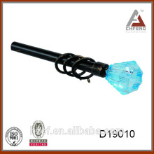 D19010 colored glass finials drapery finial