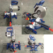 255mm 1800w Long life Induction Motor Industrial Sliding Miter Saw Electric Power Aluminum Cut Off Saw Machine