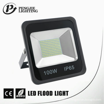 100W SMD LED Good Heat Dissipation IP65 Black LED Flood Light